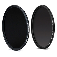 Nisi Ultra Thin 77mm ND1000 ND Neutral Density Filter+NiSi DUS Ultra 77mm Slim Circular Polarizer Polarising 77mm CPL Filter