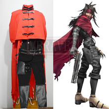Final Fantasy VII 7 Vincent Valentine Cosplay Costume Halloween Clothing