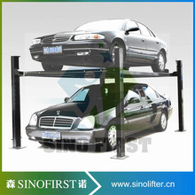 New designed safe electric garage lift storage system 4 post home garage car lift(China)