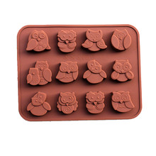 l Chocolate Cake Decorating Bakeware 3D Silicone Mold DIY Jelly Candy Pastry Biscuit Decor Soap Mould Kitchen Tools Cozinha(China)