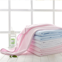 High Quality 3 sizes Polar Fleece soft travel Blanket sofa/air/bedding solid color kids Towel Multipurpose Bedding Blankets HK23