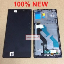 Buy 100% NEW !!! TOP Full LCD Display Touch Screen Digitizer Assembly Frame Lenovo Vibe X2 Mobile Replacement Parts for $22.87 in AliExpress store