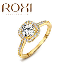 Buy 2017 ROXI Brand Anillos Fashion Jewelry Rings Women White Rose Gold Color Zirconia Environmental Rhinestone Wedding Rings for $1.48 in AliExpress store