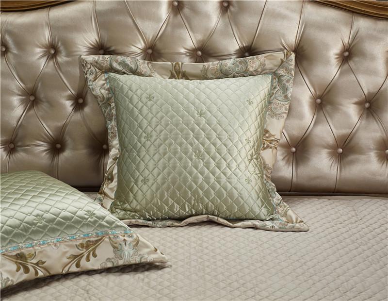 Luxury Bedding Set, Silk Satin Jacquard Bedding Set, Queen, King, Duvet Cover,Bed Linen Flat Sheet Set 22