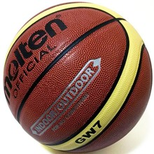 Official Size 7 Molten Basketball Ball PU Leather Basketball Ball GW7 Outdoor&Outdoor Training Ball For All Conditions
