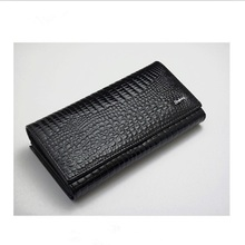 New Style Money Clip Women Genuine Leather Long Section Women Wallet Purse Patent Leather Clutch Holder Drop Shipping