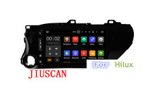 Quad Core Android 7.1 Car DVD Player for toyota Hilux 2016 2017 2018 car GPS navi for toyota hilux autoradio with free map(Hong Kong)