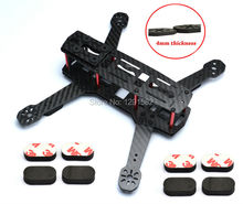 H250 ZMR250 V2 250mm Carbon Fiber FPV Mini Quadcopter Micro Multicopter Frame Kit with 4mm arm + 3M Gyro Mounting Pad