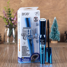 Maquiagem Brands 3D Fiber Lashes Rimel Mascara Makeup Cosmetics ink Gel Natural Fibers Waterproof Eyelash Cosmetics Eyes 26807