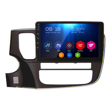 For MITSUBISHI 2017 OUTLANDER 10.1 Inch All Touch Button Android 6.0.1 OS Quad Core 16G NO DVD Car GPS Player with BT Radio MP3