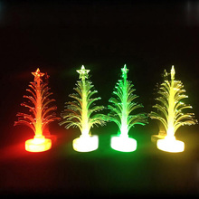 1 pcs Auto Color Changing LED Christmas Tree Lamp Nigh Light Indoor Outdoor Decoration Favor Gift