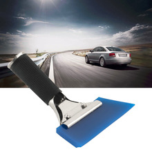 1PC Blue Razor Blade Scraper Water Squeegee Tint Tool for Car Auto Film For Window Cleaning est