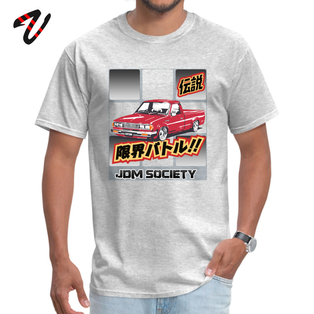 Men T-shirts Datsun Leisure Tops Shirts All Cotton O-Neck Short Sleeve Hip hop Tee Shirt Lovers Day Free Shipping Datsun 720 3714 grey