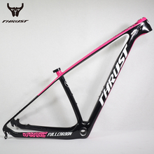 THRUST Carbon Mountain Bikes Frame 29 2017 Chinese Carbon Fame mtb T1000 Bicycle Frame 27.5er 15 17 19inch with Thru Axle 142x12(China)