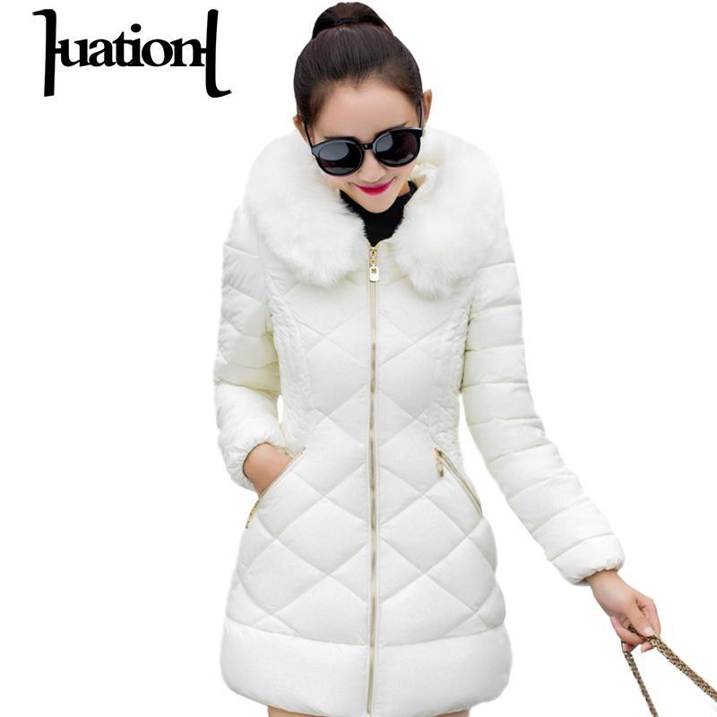 Huation Winter Warm Women  Coats Office Ladie Hooded Thick White Duck Down Jacket Coat Parkas Mujer Invierno Casaco FemininoÎäåæäà è àêñåññóàðû<br><br>