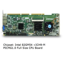 Onboard Core 2 Duo P7550 CPU, 82GM45+ICH9M Chipset, industrial full size cpu card motherboard, for IPC computer(China)