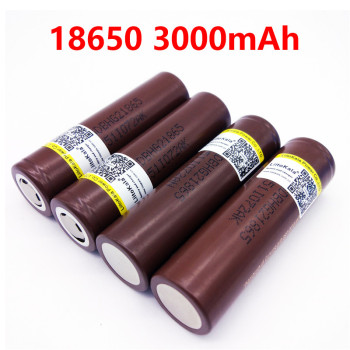 LiitoKala for HG2 18650 3000mah electronic cigarette Rechargeable batteries high