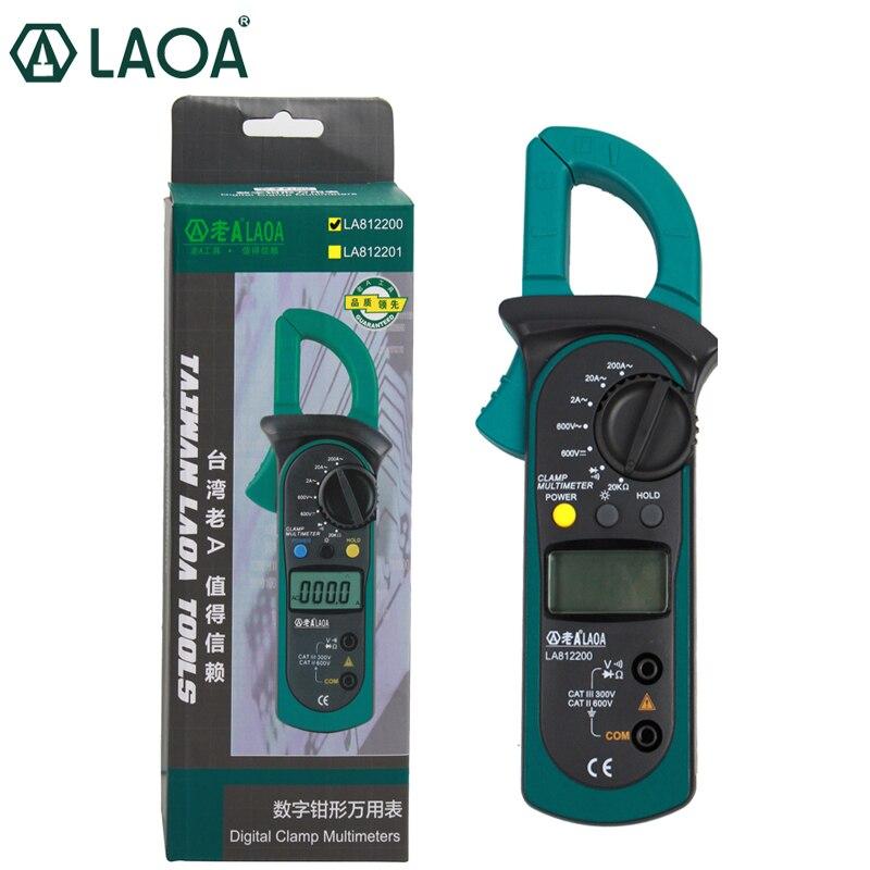 Handhold Electrical Tester Digital Clamp Multimeter  AC/DC Ammeter Voltmeter Potable Meter Electrician Tools 2years guarantee<br>