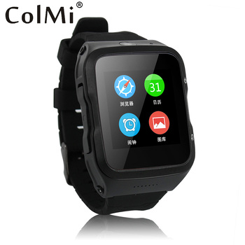 Colmi vs103 mtk6580m de ips pantalla gps wifi smart watch android 5.1 os 512 mb ram 4g rom batería 450mha smartwatch