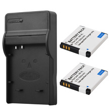 2x1000mah NB-8L NB8L Battery Pack+Charger For Canon PowerShot A3300 A3200 A3100 A3000 A2200 A1200 IS Camera Replacement Batteria