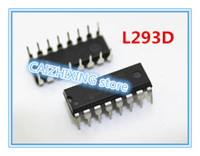 5pcs L293D L293 DIP-16 100%New Original PUSH-PULL FOUR CHANNEL DRIVER WITH DIODES(China)