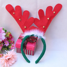 3pcs/lot Christmas Hair Accessories Headband Decorations Antlers Christmas Headband Party Hairband Girls Hair Accessories