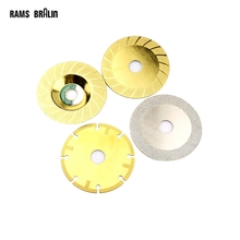100mm Diamond Alloy Grinding Slice Cutting Wheel Saw Blade for Glass Ceramic Tile Stone