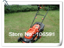 Electric mower,hand push cleaner electric wheel brush grass cutter trimmer handle mower 220v/1000w