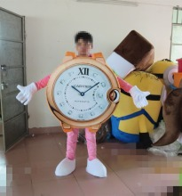 High quality Watch Mascot costume Advertising Mascots  mascot suit