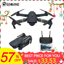 Eachine E58 WIFI FPV Avec Grand Angle HD Caméra Haute Tenue Mode Pliable Bras RC Drone Quadcopter RTF(China)