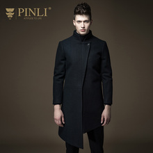 PINLI products made in the long winter new men's wool coat collar male S164202018(China)