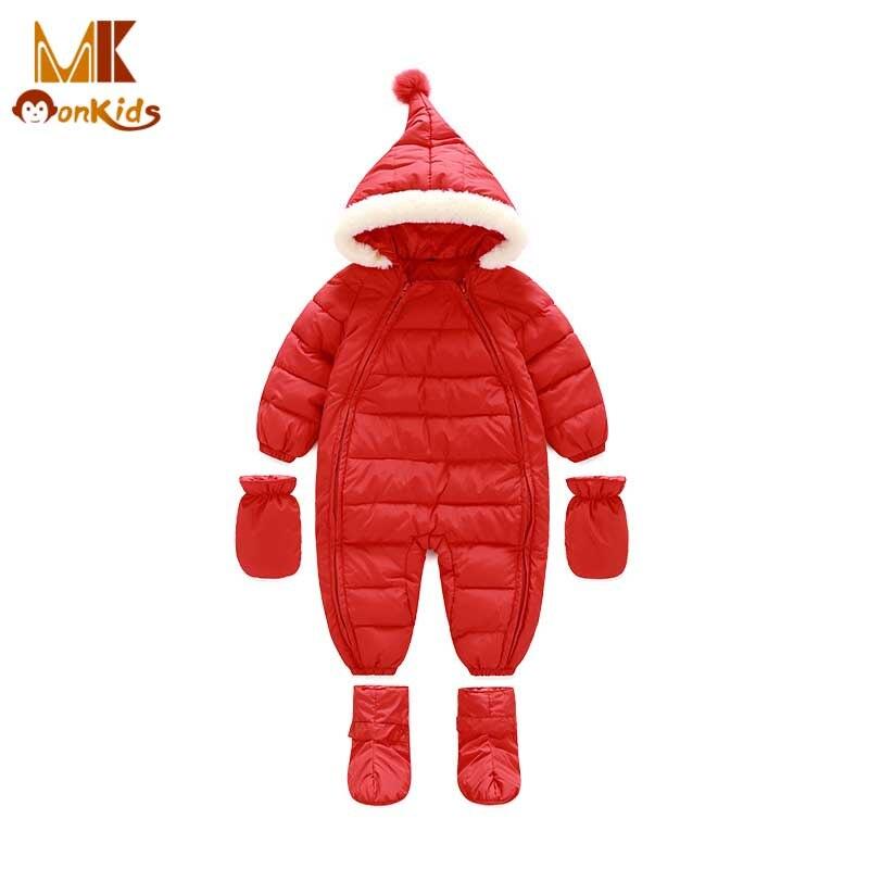 Monkids Jacket Girls Baby Rompers Winter Thick Down Cotton Boys Girls Costume 2 Zipper Clothes Kids Jumpsuit Children Outerwear <br><br>Aliexpress
