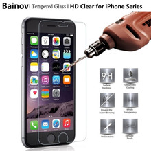 Buy Bainov 2Pcs/Lot Tempered Glass Apple iPhone 7 7Plus Toughened Rrotective Film iPhone 5 5s 6 6s Plus for $1.22 in AliExpress store