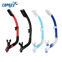 Copozz Brand Professional Dry Snorkel Tube Men Women Diving Swimming Water Sports Equipments(China)