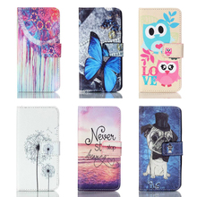 For Coque Samsung Galaxy A5 2016 Cover Case Leather Wallet Stand Phone Case For Samsung Galaxy A5 2015 Flip Case Dog Card Holder