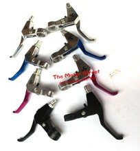 Four type 47 49CC Scooter Mini Pocket Bike Handle Bar Brake Levers Fit Gas Scooter Minimoto Chopper Pocket Dirt Bike Brake Leve