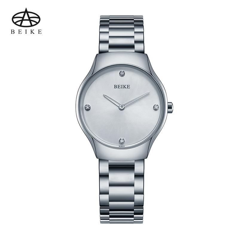 Relogio feminino Women Watches BEIKE Luxury Brand Girl Quartz Watch Casual Steel Ladies Dress Watches Women Clock Montre Femme<br>
