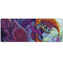 Large CS GO Gaming mouse pad mat grande Hyper beast Howl M4A4 AWP CSGO 80*30cm gamer Mousepad game CS:GO gun mouse mat muismat(China)