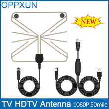 DVB-t2 antenna TV Antenna HDTV Antenna Amplifier Outdoor TV Antenna F Male with High Signal Amplifier 50 Mile Range