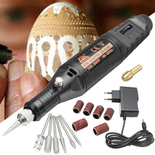 1pc Mini Electric Engraving Pen DIY Engraver Carve Tool Set For Jewelry Metal Glass Power Tool Accessories