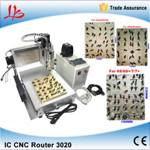 For iPhone IC Repair LY IC cnc router / Milling engraving machine for iPhone 4,4s,5,5c,5s,6,6P,6S,6S+,7,7+ Main Board Repair