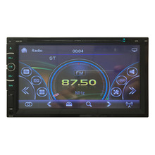 Cimiva 7 Inch TFT 2 Din Car Radio Headunit Touch Screen Car Stereo Electronics MP3 DVD Player Bluetooth for iPod 12v