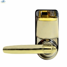HFSECURITY Free Shipping Digital Fingerprint Door Lock Home Door Security Lock Password Key Door Lock Fingerprint Lock(China)