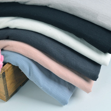 Free shipping 32s Combed slub cotton spandex lycra garments fabric for Spring blouse shirts super quality 50*180cm/piece K302622(China)