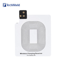 For Samsung Galaxy S5 i9600 Compact Qi Wireless Charger Receiver Ultra Thin Wireless Phone Charger Receiver