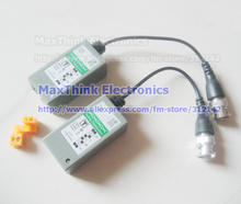 Single Channel Active Video Balun Video Transceiver Twisted Pair UTP with BNC Connector For CCTV 10 Pairs, Wholesale