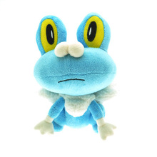 Newest Pokemon XY Froakie Plush Toy Dolls Kawaii 18cm Frogs Froakie Game Plush Toy Soft Stuffed Animals Toys Doll Gift for Kids