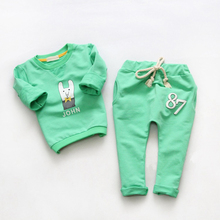 Cemigo Children Clothing Sets Boys Clothes Set Girls Casual Spring Suits Kids Autumn Hoodies Sets IU154(China)