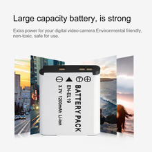 3.7V 1200MAH Rechargeable Battery Digital Camera Replacement Li-ion Battery Pack Suitable For Nikon EN-EL19 Camera Drop Shipping
