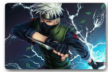 High quality customized Naruto Kakashi Dagger charm 40x60cm door mat carpet Bath mat kitchen mats home decoration